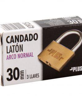 Candado Latón Plus Alfa Arco Normal  30 mm.