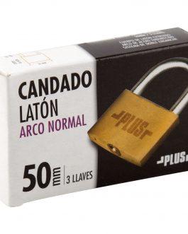 Candado Latón Plus Alfa Arco Normal 50 mm.