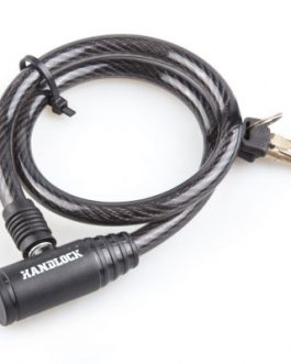 Candado Handlock para bicicleta con llave 6 mm . x 65 cm. color negro