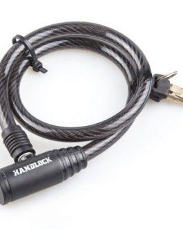 Candado Handlock para bicicleta con llave 10 mm . x 65 cm. color negro