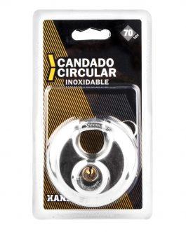 Candado circular inoxidable Handlock 70 mm